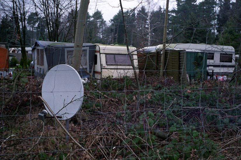 A photo of a German Trailer Park located in Steinhagen, Germany