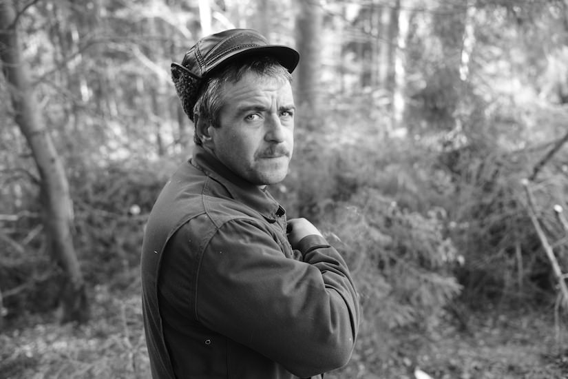 A portrait of a Romanian Woodsman