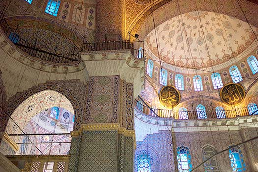 Istanbul.A photo of the Yeni Cami Mosque